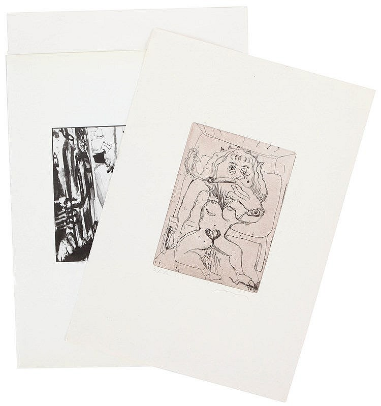 FRED BERVOETS(1942) A set of four prints. All signed and numbered. Dif