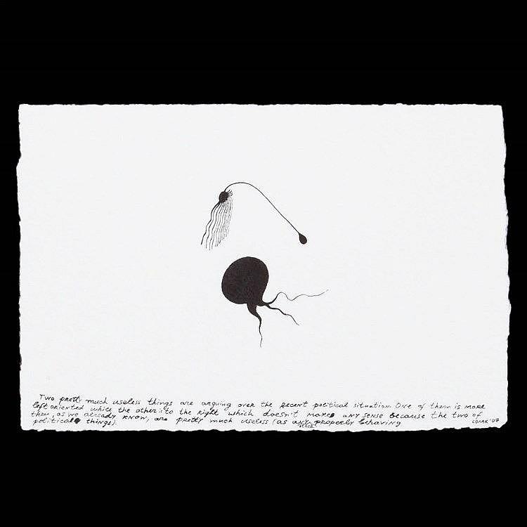 NEDKO SOLAKOV(1957) Untitled. Screenprint. Signed and dated. 500