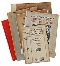 (Timmermans) Felix Timmermans, Ecce Home. Flandria's Novellen Bibliotheek.