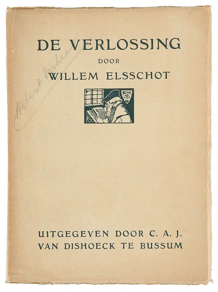 (Elsschot) Willem Elsschot, De Verlossing. Bussum, C.A.J. Van Dishoeck, 192