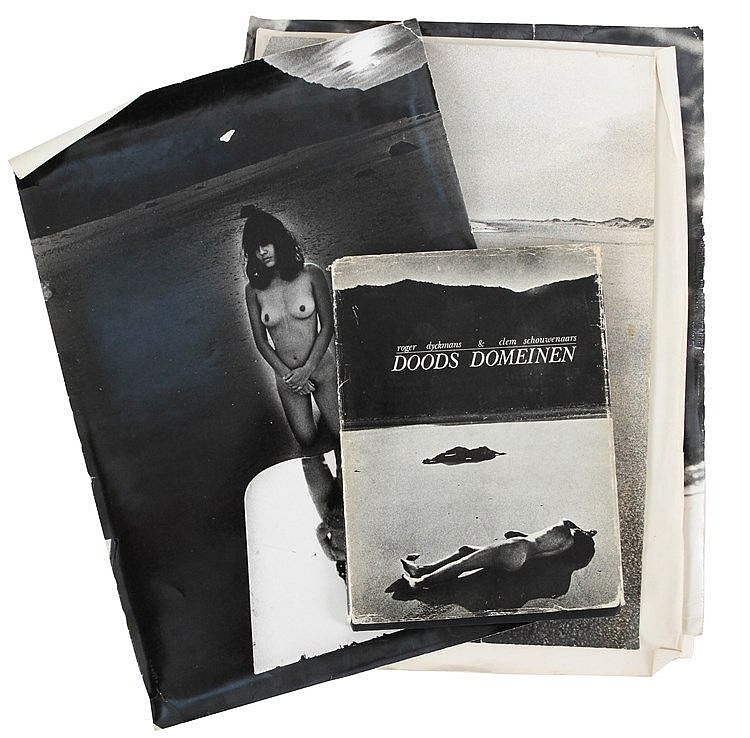 ROGER DYCKMANS (1942-2015) Nudes. Three orig. photographs. From the al