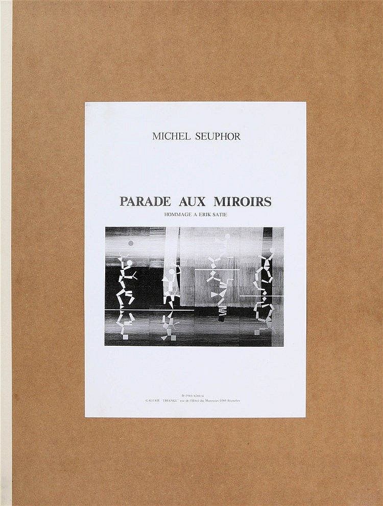 MICHEL SEUPHOR (1901-1999) Portfolio with eight prints. One of the 100
