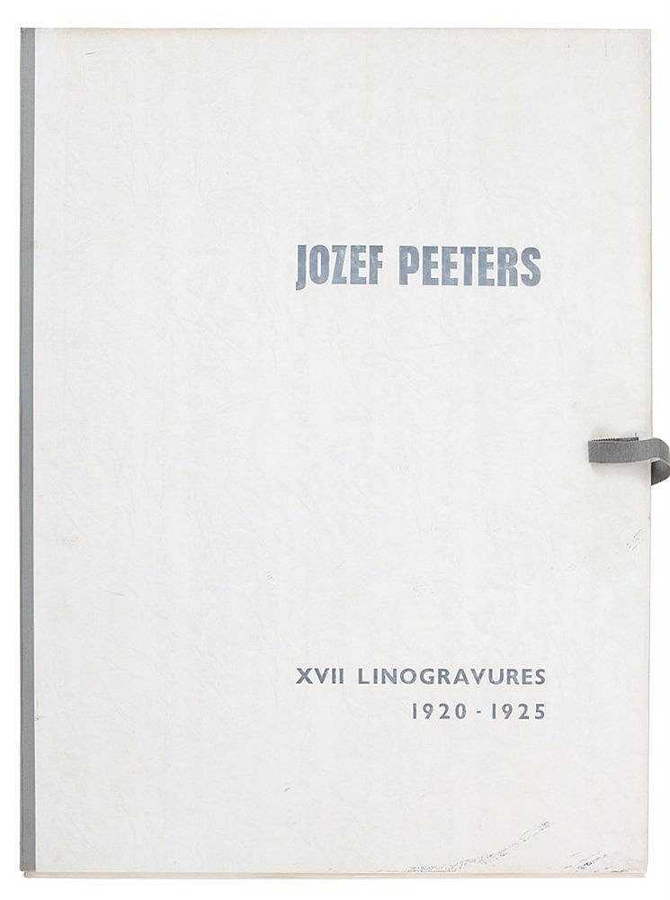 JOZEF PEETERS (1895-1960) Portfolio with 17 reprints. From an edition