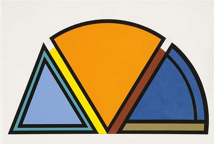 GUY VANDENBRANDEN(1926) Composition. Gouache. Signed and dated on the