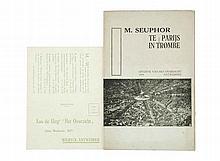 (Seuphor) Michel Seuphor, Te Parijs in trombe. Antwerpen, Uitgave van Het O