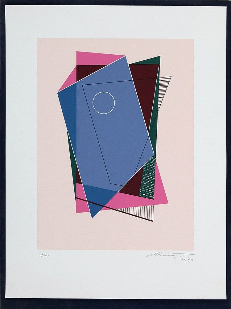 MARCEL-LOUIS BAUGNIET (1896-1995) Portfolio with seven screenprints. A