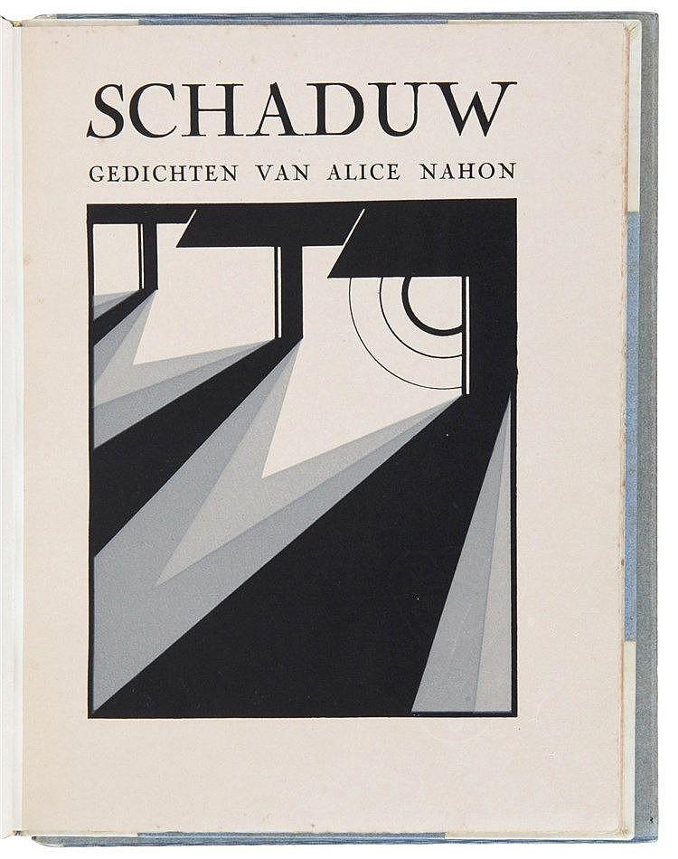 (Nahon/ Leonard) Alice Nahon, Schaduw. Antwerpen, De Nederlandsche Boekhand