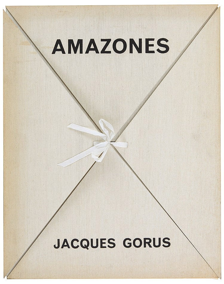 JACQUES GORUS (1901-1981) Portfolio with twelve etchings. One of the 1