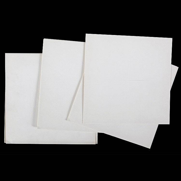 AD DEKKERS (1933-1974) Cardboard portfolio with debossed title on fron