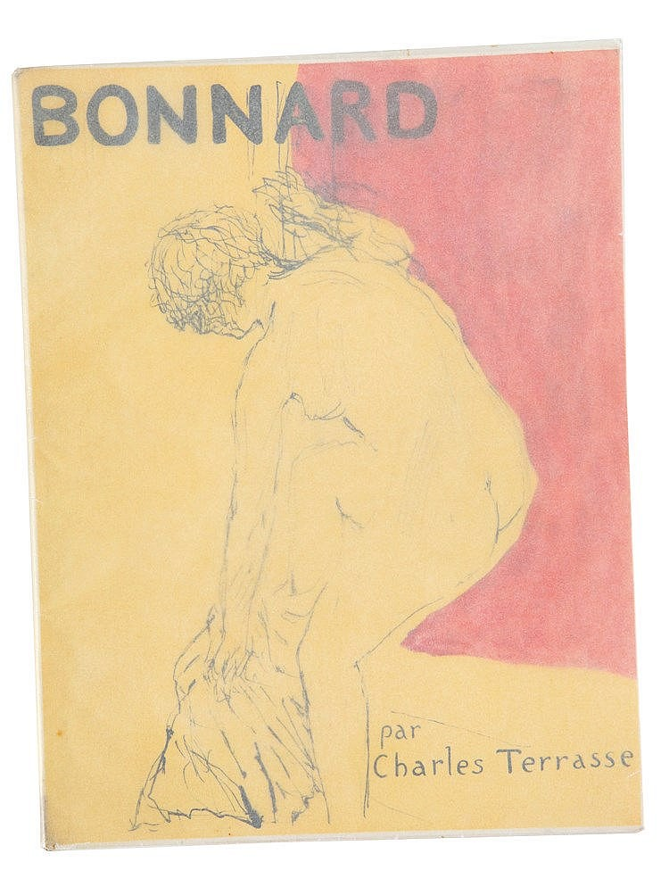 (Bonnard) Charles Terrasse, Bonnard. Paris, Henri Floury éditeur, 1927. In-