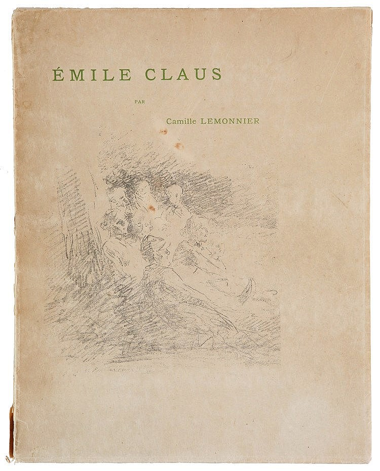 EMILE CLAUS (1849-1924) One of the 50 deluxe copies on Japan paper, wi