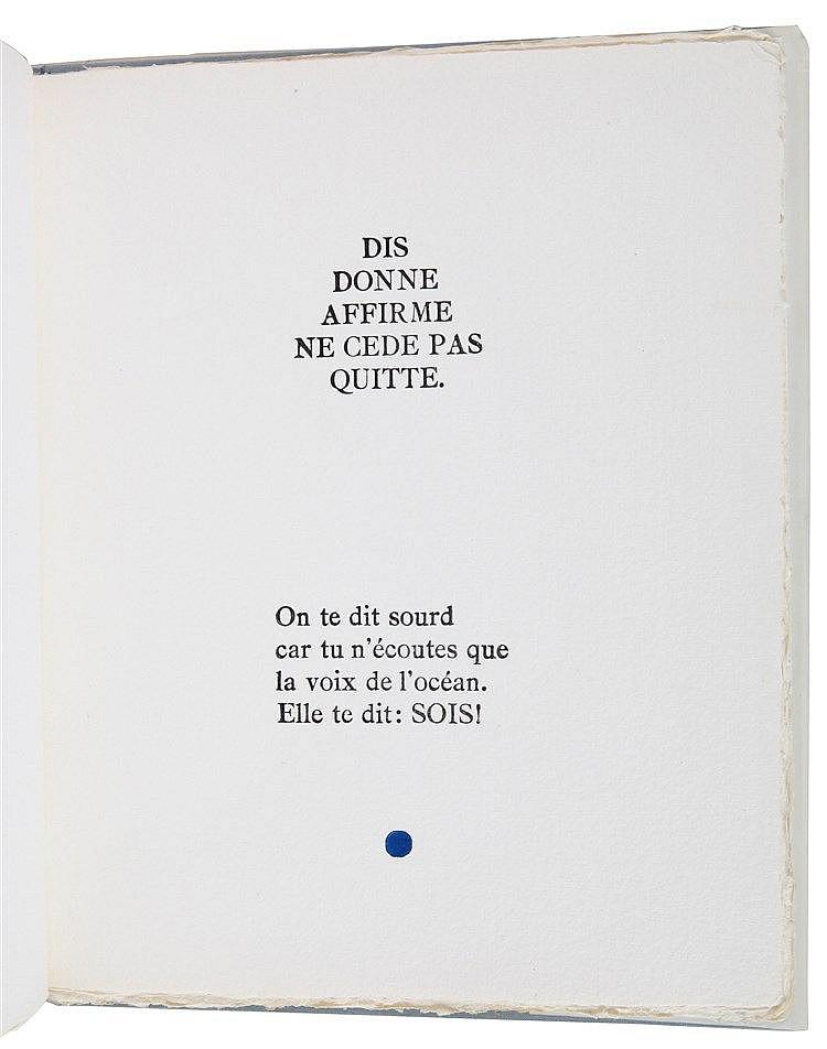 (Seuphor) Michel Seuphor, Seuphorismes. (Gent), De Prentenier, 1988. In-4°.