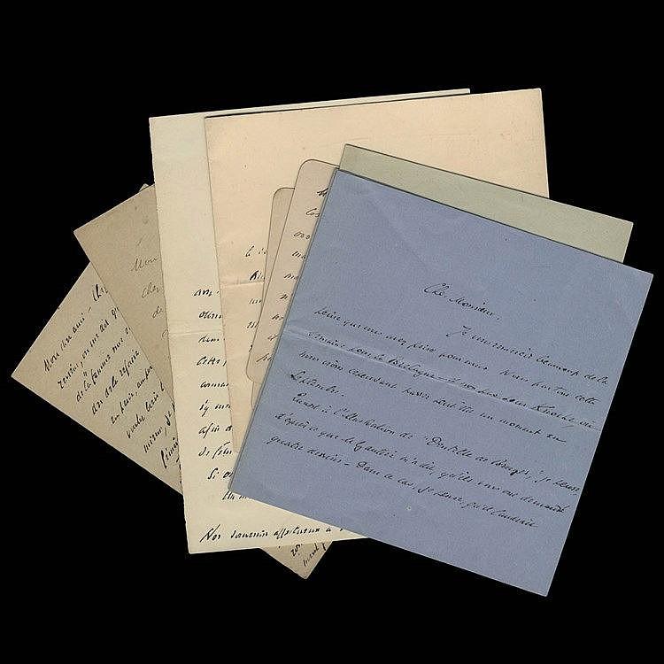 (Rodenbach - Cassiers) Correspondance Georges Rodenbach - Henri Cassiers. E