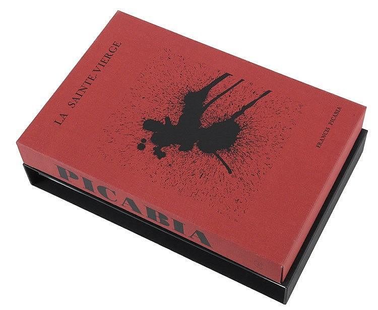 (Picabia) Francis Picabia. Antwerpen, Ronny Van de Velde, 1991. Deluxe exhi