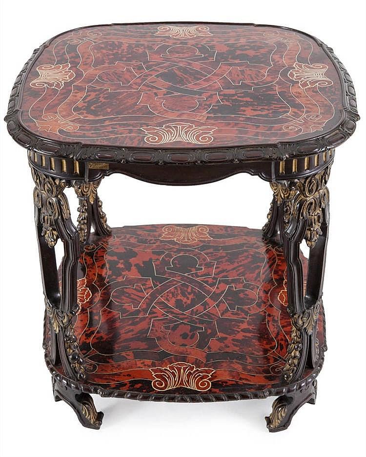 Gebroeders freres franck 1926 1928 sofa table byzantin - Sofa hars gevlochten buitenkant ...