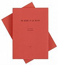 KAREL DIERICKX (1940-2014)(Dierickx) Luuk Gruwez/ Karel Dierickx, De kerf in je wang. Ghent, Octave de Achtste, 2011. In-fol. One of the 36 numbered copies (n°7).
