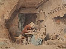 FERDINAND DE BRAEKELEER DE OUDE (1792-1883)
