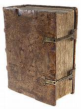 (postincunabel) Bernardin de Bustis, Sermonum predicabilium quod Rosarium appellatur. Pars prima-secunda. Venetië, Georg de Arrivabenis, 1498. In-8°.