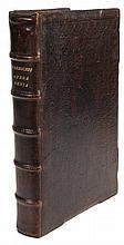 (Van Ruusbroec) Jan Van Ruusbroeck, Opera omnia. Keulen, erven Johan Quentel, 1552. In-fol. Titel, (5), index, 550gen.pp. Eerste Latijnse uitgave van het verzameld werk, versierd met historiërende initialen doorheen het werk.