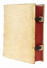 (Leo Belgicus) Famiano Strada, De Bello Belgico decades duae. Frankfurt, Johannes Beyer, 1651. Groot in-8°. Gegraveerde titel (Leo Belgicus), titel, (2), 778gen.pp. + index.