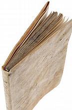 (postincunabel) Heynlin (Johannes). Resolutorium dubiorum circa celebrationem missarum occurrentium. Per venerabilem patrem dominum Johannem de lapide doctorem theologum parisiensem. Basel, Johan Froben, 1492. In-8. 1blanco, titel, (5), 30ff.