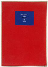 PHILIPPE VANDENBERG (1952-2009) Portfolio of six lithographs. One of t