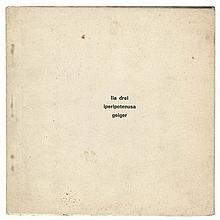 (Drei) Lia Drei, Ipotenusa. Torino, Geiger, 1969. Small square in-8°. One of the