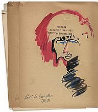 FRITS VERTONGEN (1939-1997) 'Café'. 'Sprong' (2). 'Kuikentje'. 'Sprint