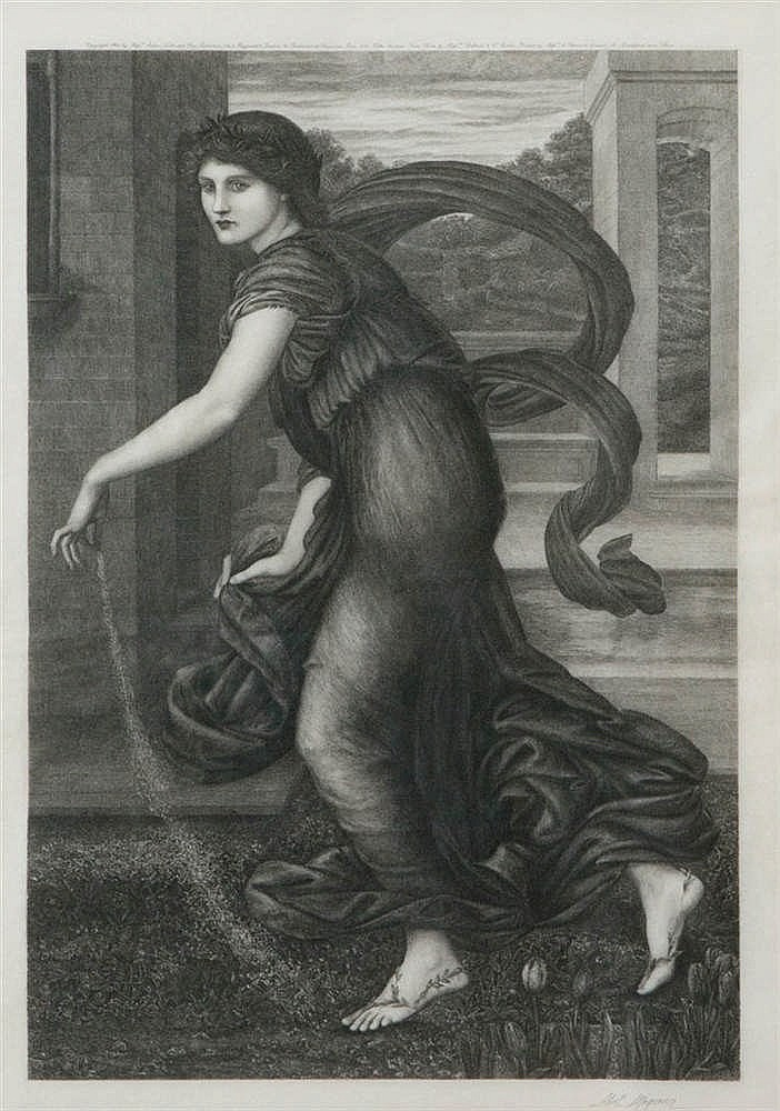 ABEL MIGNON (1861-1836), naar/ after Edward Coley Burne-Jones