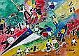 KOBELI, ELI (SA 1932 - 1999) Watercolour,