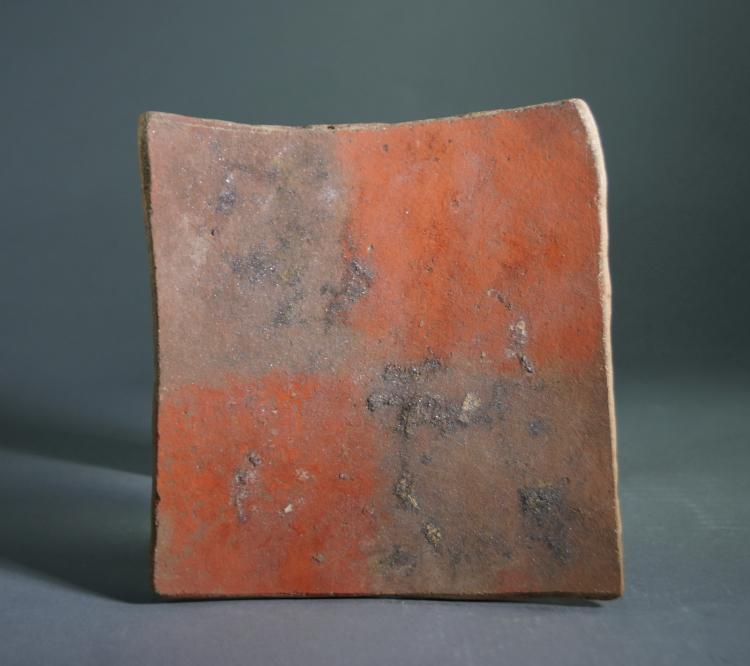 Pre Columbian Chucu, Pre-Inca Tiles or Plaques Decorated with Geometric Checkerboard