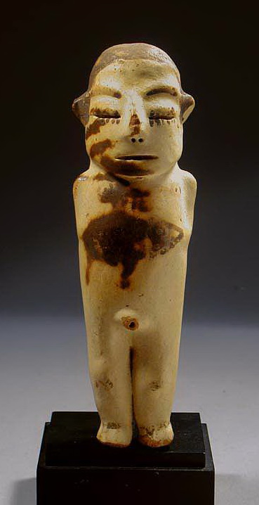 Pre Columbian Nasca Male Mummified Figurine
