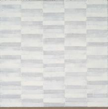 Zinc White on Linen No. 25