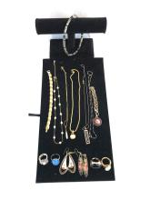 Sterling & Costume Jewelry Lot