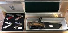 Two Frost Cutlery Knife Box Sets