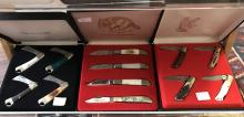Three Frost Cutlery Knife Box Sets