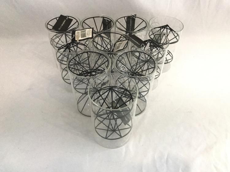 NWT Glass Vase/Pencil Holder Lot