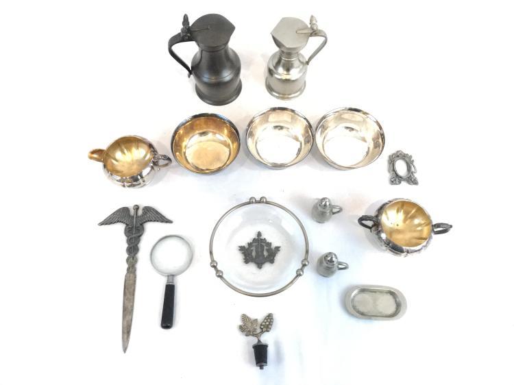 Pewter & Misc Decorative Pieces