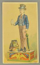 UNCLE SAM TRADING CARD