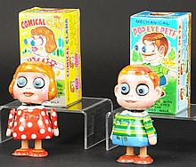 BOXED POP-EYE PETE AND COMICAL CLARA