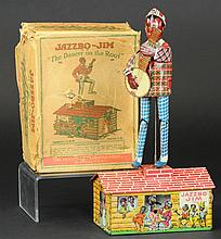 JAZZBO JIM WITH ORIGINAL BOX