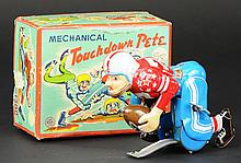 TOUCHDOWN PETE WIND-UP TOY