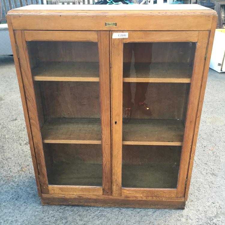 A bookcase with glazes doors a f drake ltd newcastle for Chinese furniture newcastle