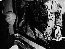 Edward QUINN 1920-1997 Pablo Picasso au travail