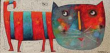 JEHAN Christophe Le chat coloré