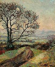 Emmanuel DE LA VILLÉON 1858-1944 Chemin dans la campagne, 1894
