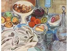 Raoul DUFY 1877-1953  Nature morte   Estampe signée en bas à droite  18,5 x 23,5