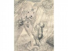 * Salvador DALI 1904-1989  Obsession  Lithographie  64 x 49