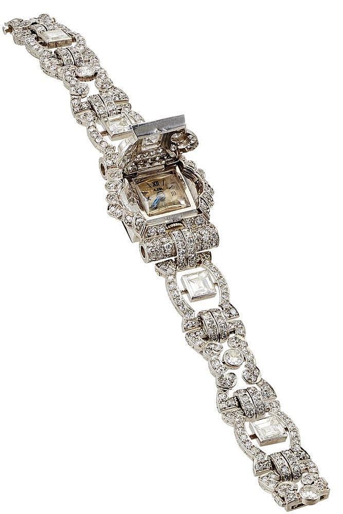 Important bracelet montre bijoux de la maison andr col par for Andre maurois la maison