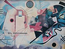 Wassily KANDINSKY 1866-1944   Composition   Estampe   31 x 41